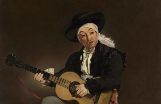 Le Chanteur Espagnol - Edouard Manet