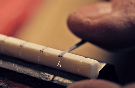 l'art de fabriquer des guitares